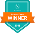 Opencare Patients' Choice 2015 Winner